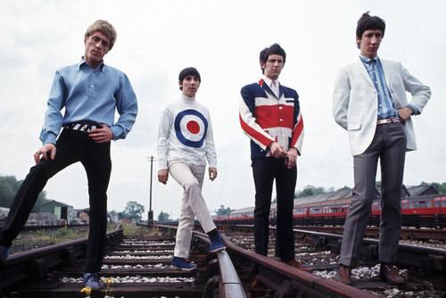 Formação original do Who: da esq. para a dir., Roger Daltrey, Keith Moon, John Entwistle e Pete Townshend (FOTO: DIVULGAÇÃO)